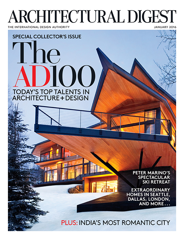 Architectural Digest The 2016 AD 100. January 2016Download PDF