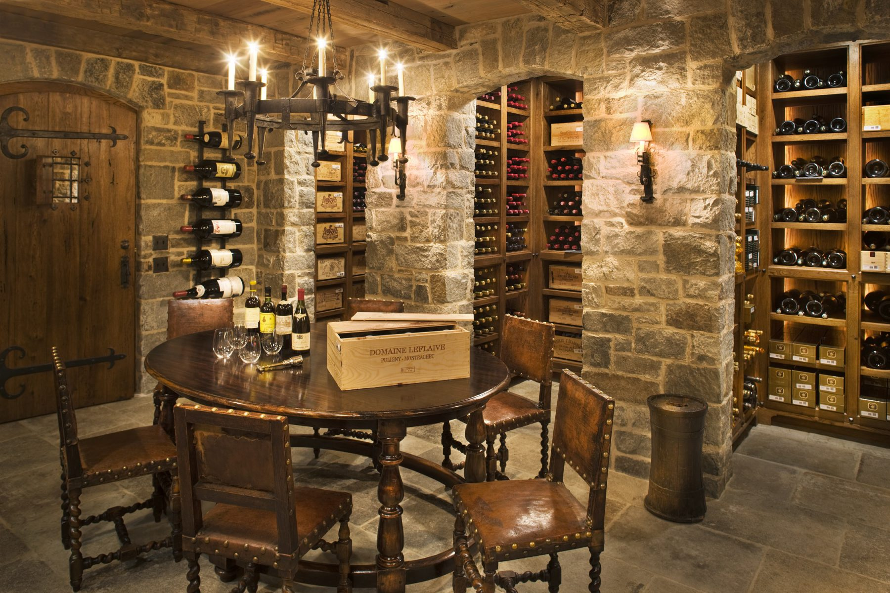 Wine Cellar Furniture Inside New Wine Cellar Gp Schafer Architects