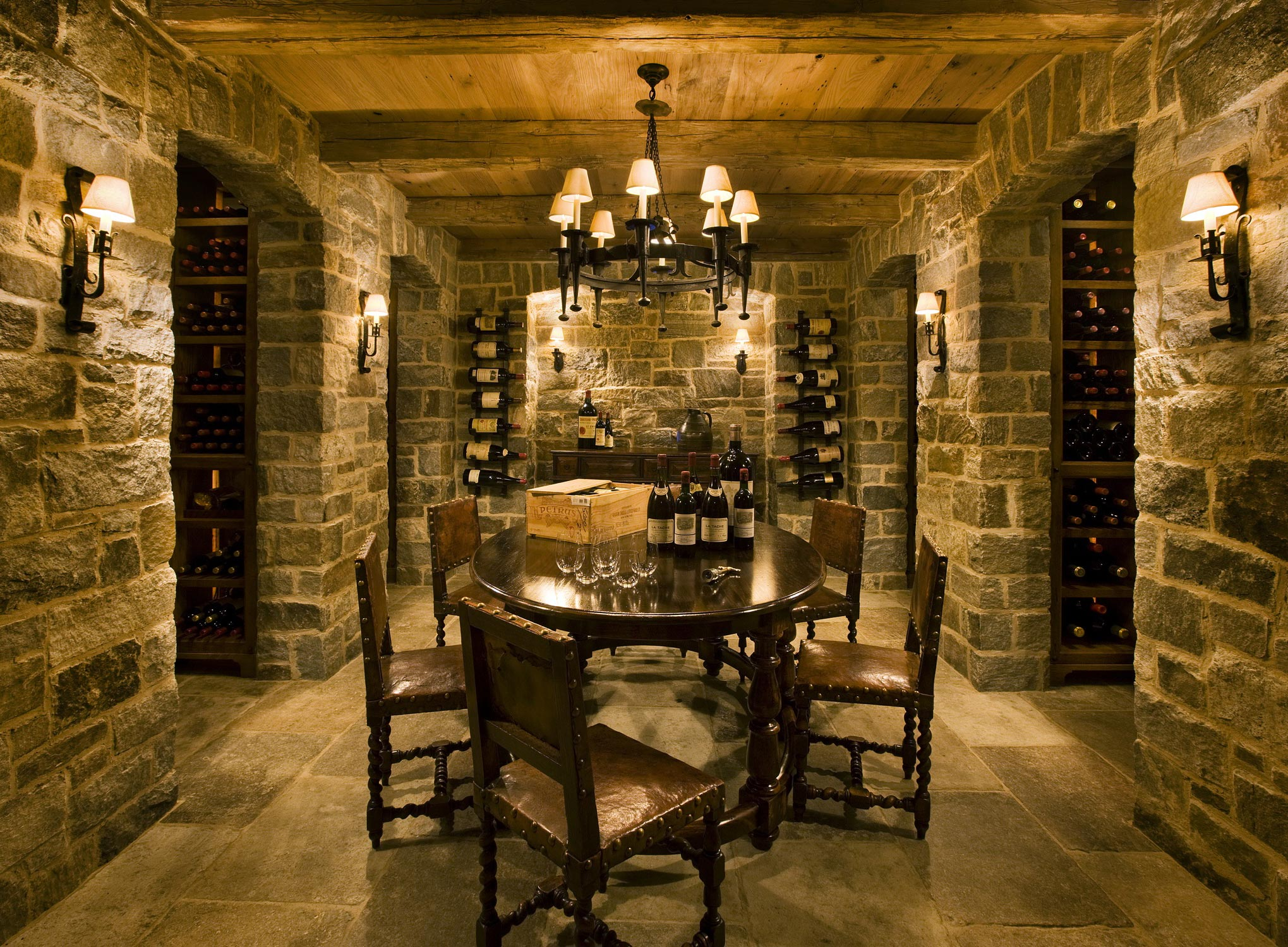 New Wine Cellar G P Schafer Architect