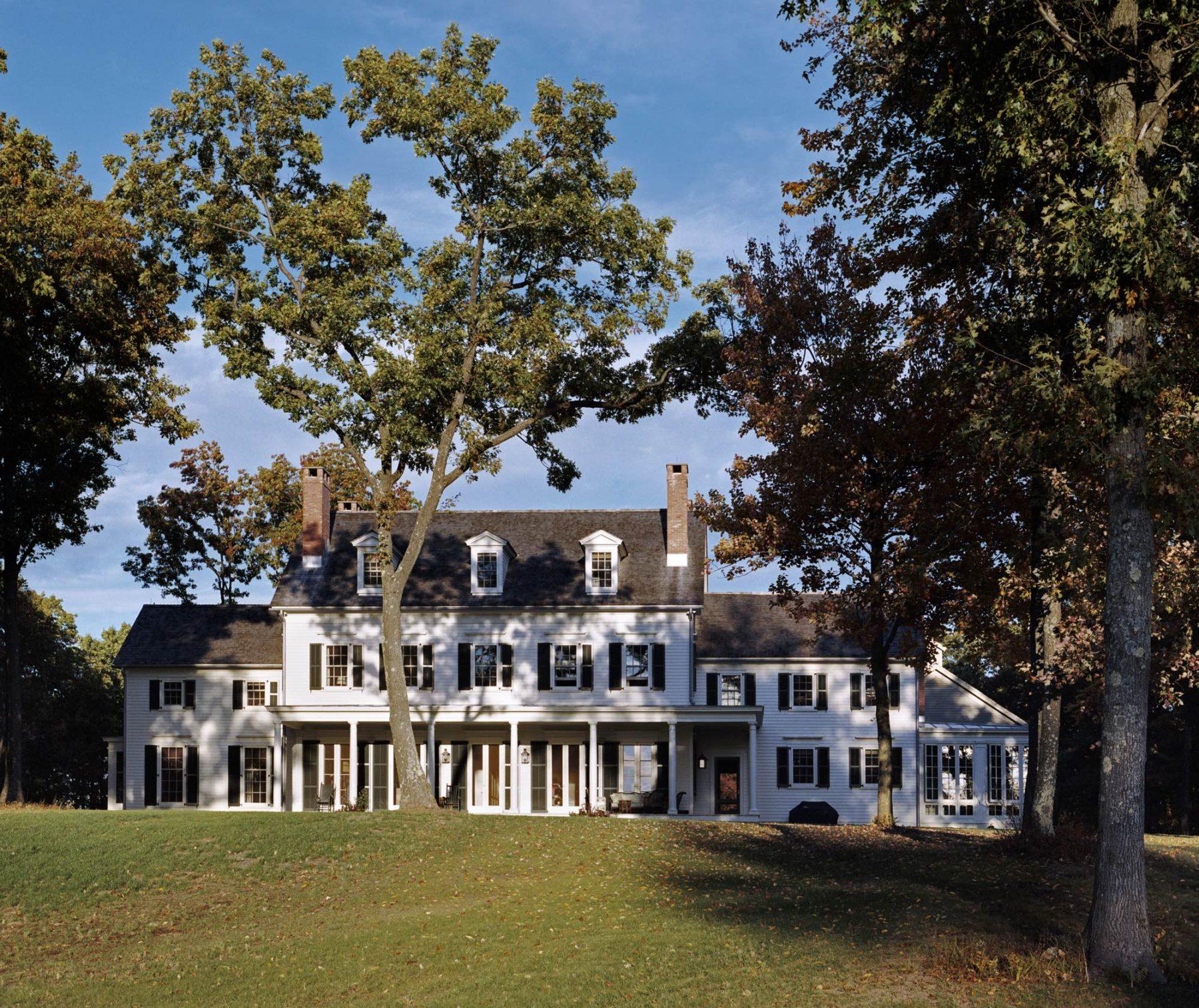 Horse Farm In Upstate New York G P Schafer Architect