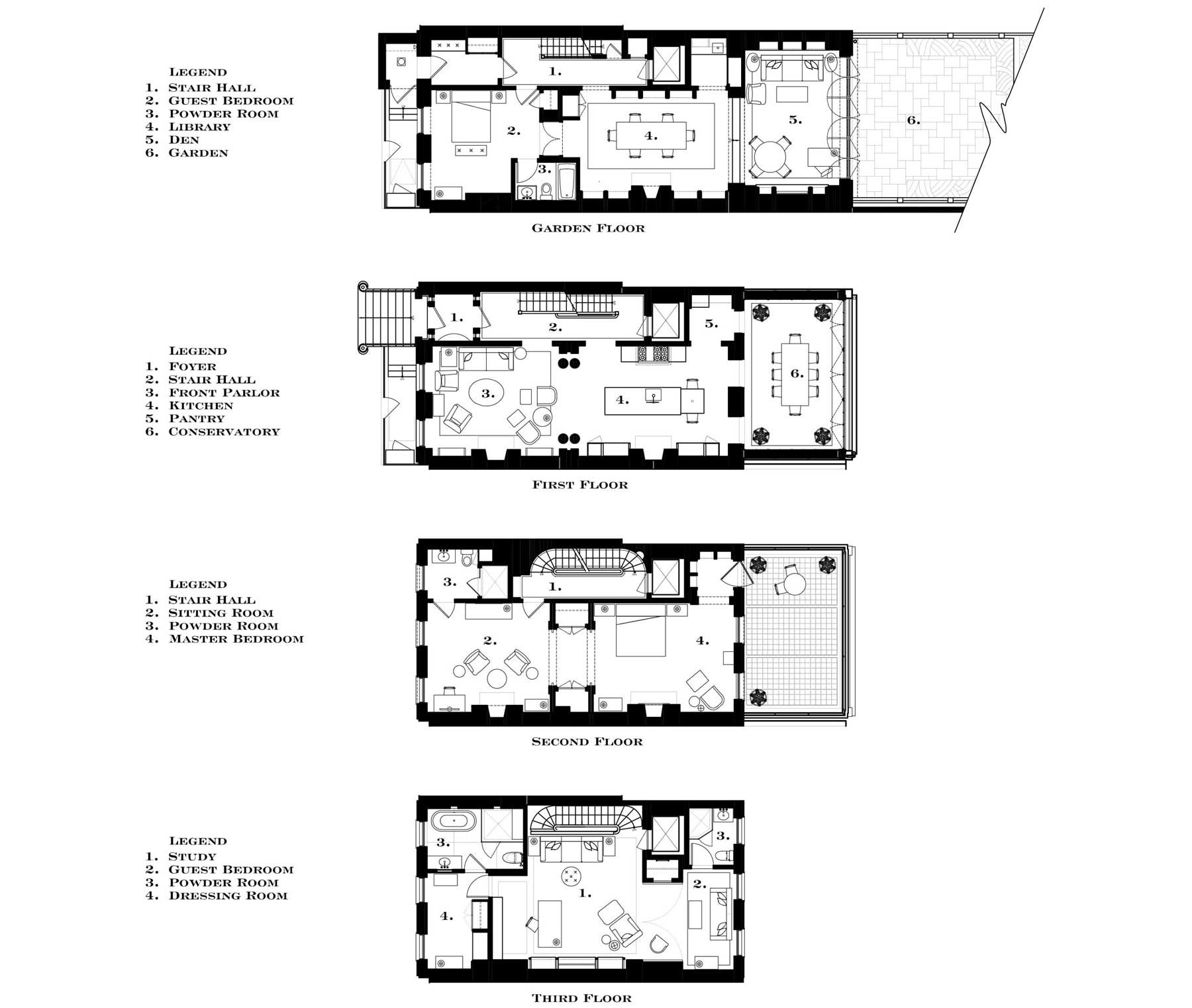 Historic Townhouse in New York | G.P. Schafer Architect on golf course floor plans, home floor plans, historic cottage floor plans, historic farmhouse floor plans, historic cape cod floor plans, historic house floor plans, historic bungalow floor plans,