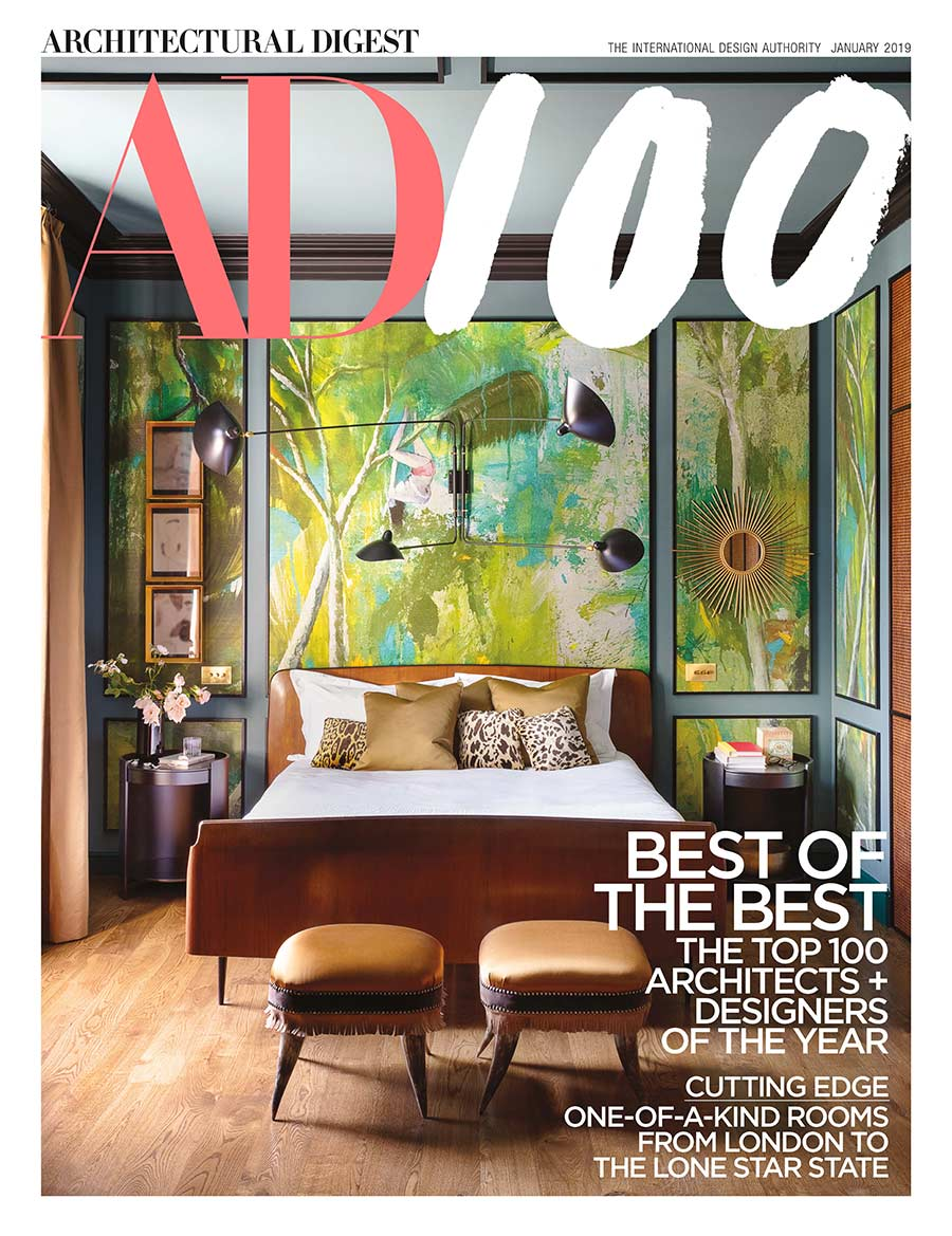 We are incredibly grateful to once again be included in architectural digests prestigious ad100 list of the worlds top architects interior decorators and